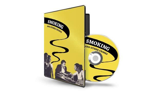 Smoking poster - SMOKING AND OTHER CRIMES
